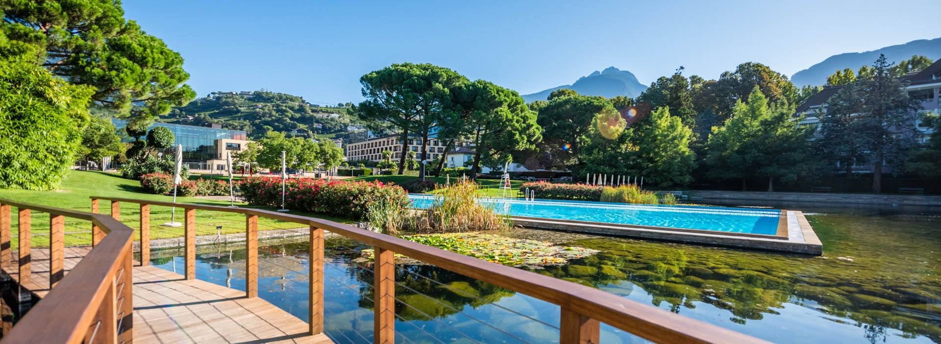 Therme Meran - Poollandschaft