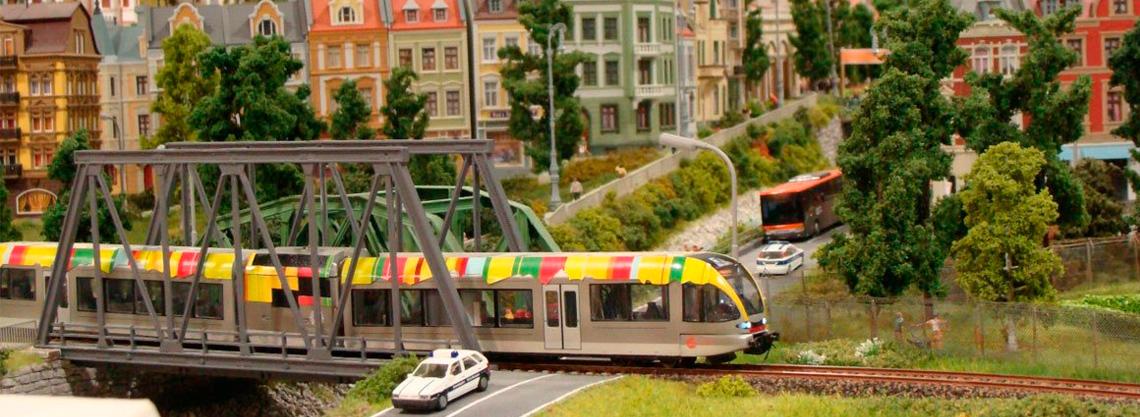 Eisenbahnwelt - Südtirol in Miniatur