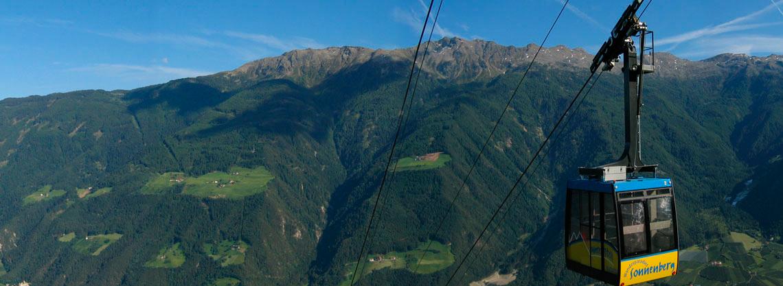 Funivia Unterstell Naturno - Monte Sole