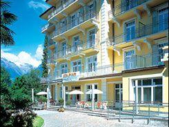 Hotel Palace Meran Geschichte