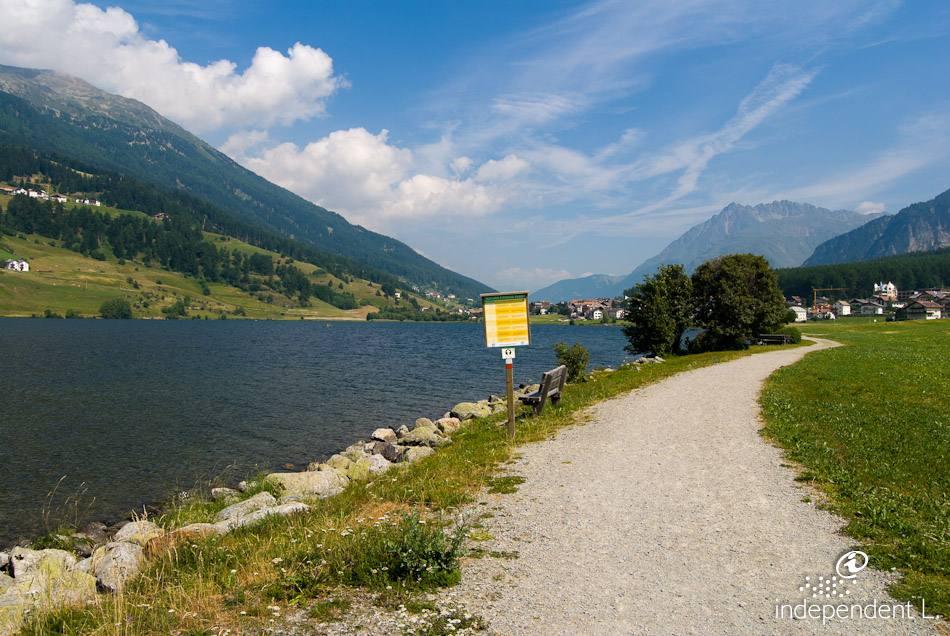 Giro del Lago di San Valentino alla Muta , Alto Adige per tutti itinerari  descritti dettagliatamente, corredati di mappe e fotografie