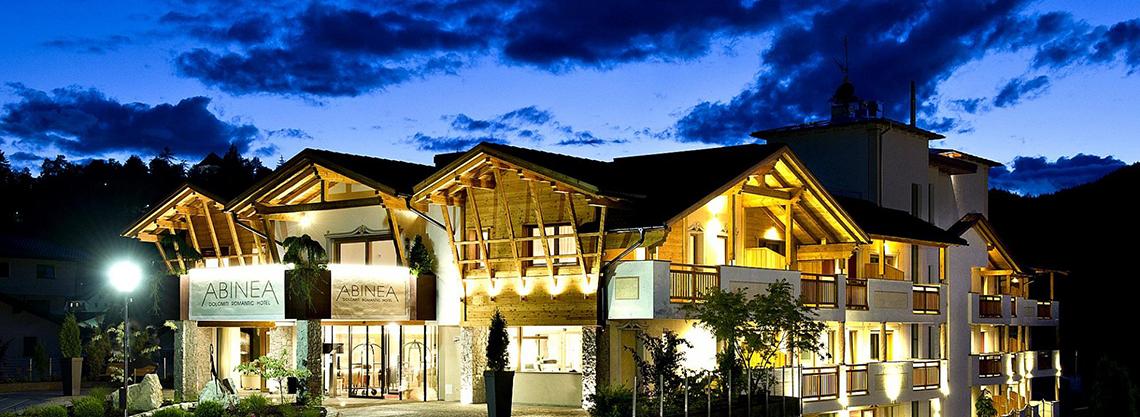 ABINEA Dolomiti Romantic SPA Hotel Südtirol