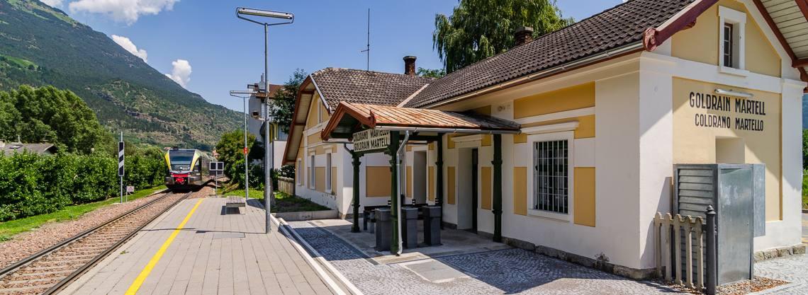 Stazione di Coldrano - Val Martello