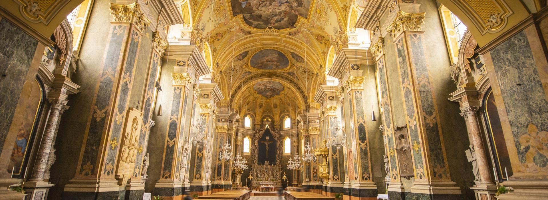 Duomo e chiostro del Duomo di Bressanone