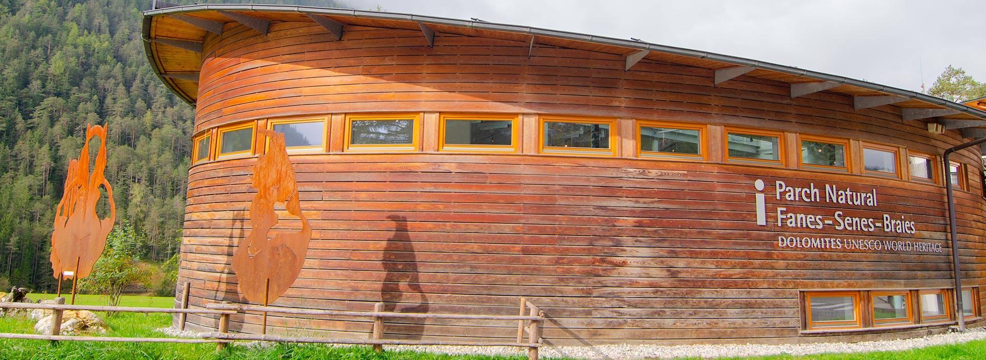 Centro visite del Parco Naturale Fanes-Senes-Braies