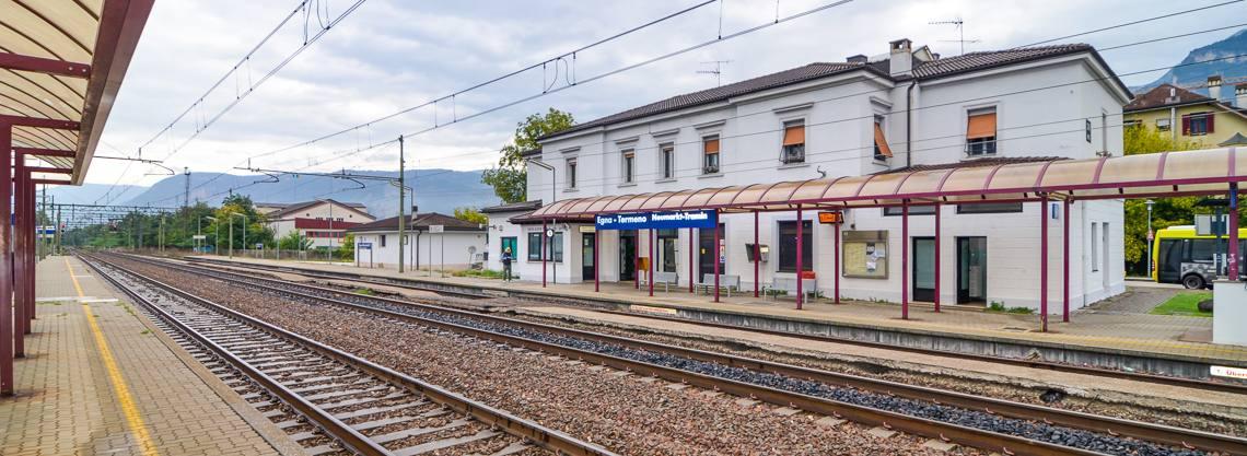 Bahnhof Neumarkt - Tramin