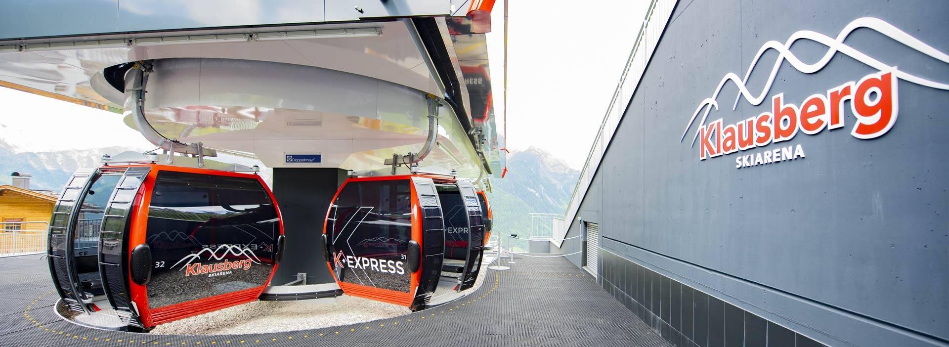 Cabinovia Klausberg Express